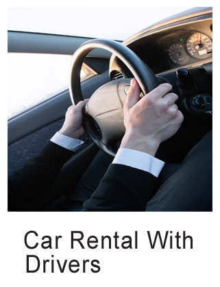 Taxi and car rental with drivers